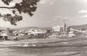 Строительная база. (ЖБИ, бетонорастворный завод и др.) 1958