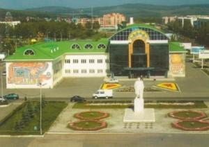 центральная площадь Учалов